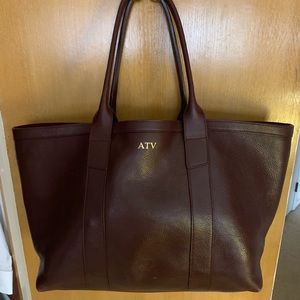 Lotuff Leather Working Tote (Medium)